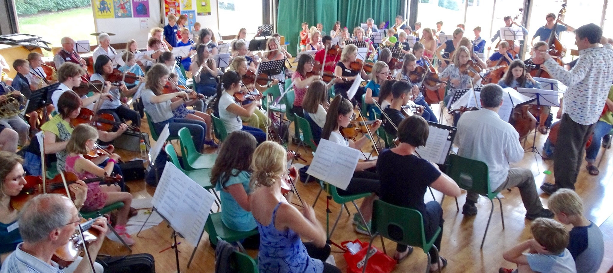 Chorleywood Orchestra invite beginners, returners-to-playing and professionals to join their orchestra for the afternoon